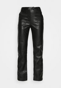 4th & Reckless - KAYDEN TROUSER - Trousers - black - 4