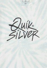 Quiksilver - DRAFT MESSAGE - Print T-shirt - snow white - 2