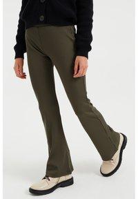 WE Fashion - Broek - dark green - 0