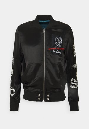 J-SMOKED GIACCA - Bomber Jacket - black