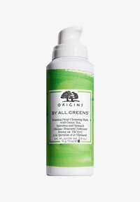 By All Greens Foaming Deep Cleansing Mask with Green Tea, Spirulina and Spinach - Face mask - -