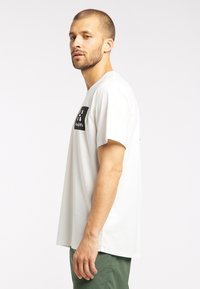 Haglöfs - Print T-shirt - soft white - 3