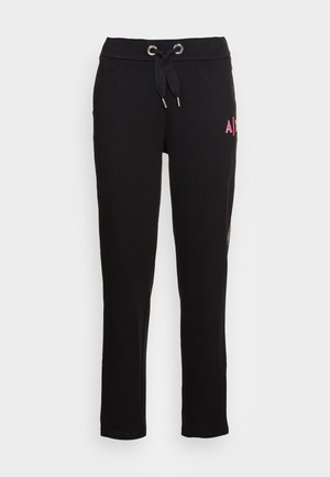 PANTALONI FRENCH TERRY - Spodnie treningowe - black