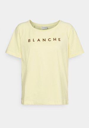 MAIN RAGLAN - Print T-shirt - sunshine