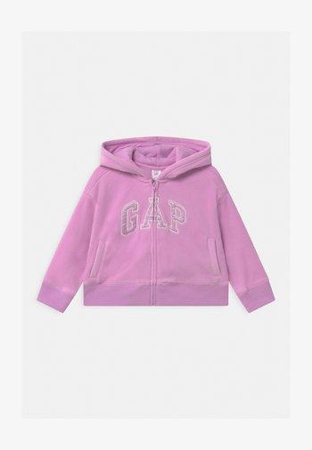 TODDLER GIRL - Fleece jacket - purple rose