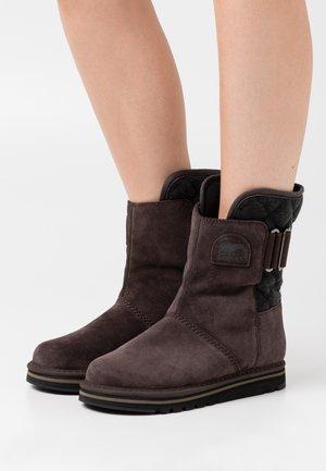 NEWBIE - Winter boots - dark brown
