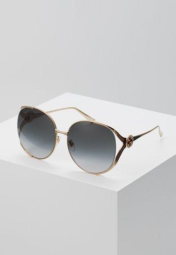 Okulary przeciwsłoneczne - gold/grey