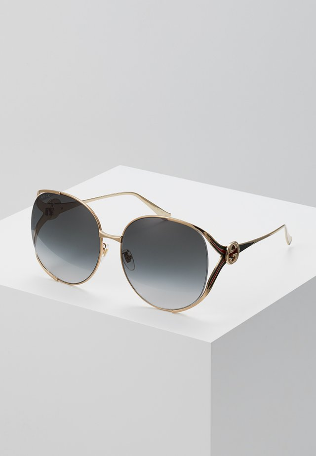 Sonnenbrille - gold/grey