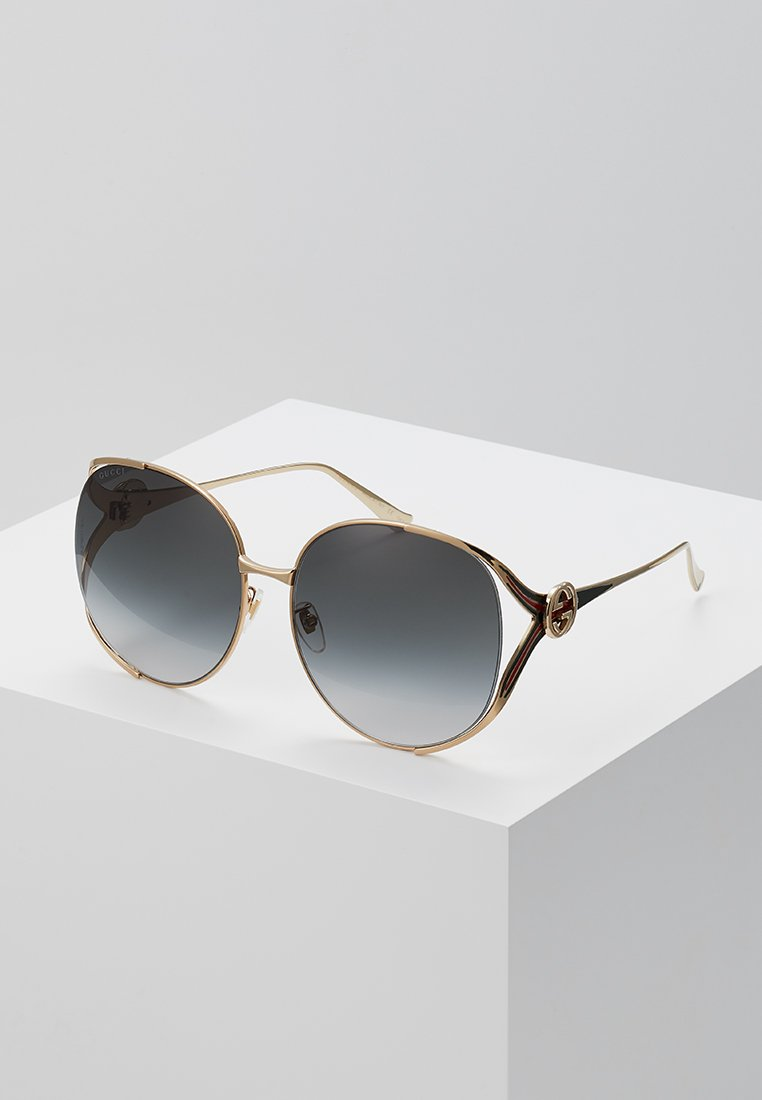 Gucci - Aurinkolasit - gold/grey