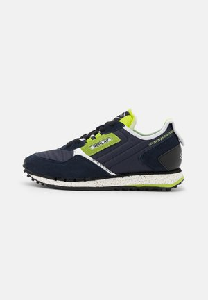 DRUM ROAD  - Trainers - navy/lime