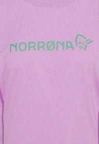 Norrøna - FJØRÅ EQUALISER LIGHTWEIGHT LONG SLEEVE - T-shirt à manches longues - violet tuille/arcadia - 2