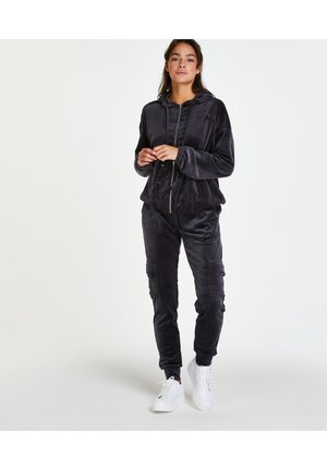 VELOURS CARGO - Pyjama bottoms - grey