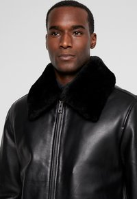 Oakwood - DADDY - Leather jacket - black - 3