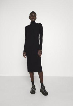VALES - Jumper dress - black