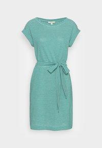DRESS  - Jersey dress - teal green