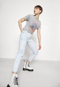 Levi's® - 501 CROP - Jeans straight leg - scribble down lb - 3