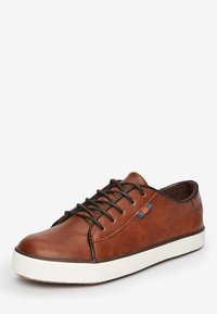 Next - TAN LACE-UP SHOES (OLDER) - Trainers - brown