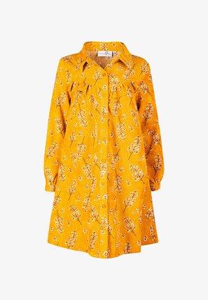 Shirt dress - senf