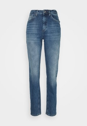 ONLVENEDA LIFE MOM - Relaxed fit jeans - dark blue denim