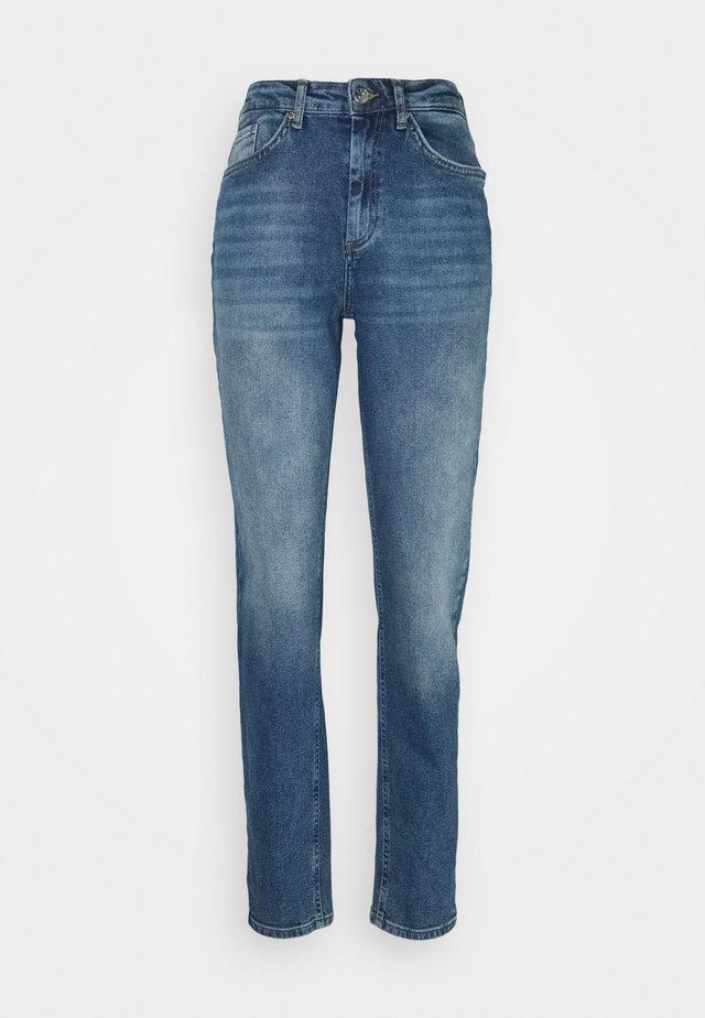 ONLVENEDA LIFE MOM - Relaxed fit jeans - dark blue denim