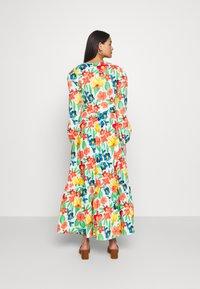 Glamorous - LONG SLEEVE WRAP MIDI DRESS - Maxi dress - large bright - 2