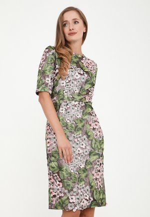 TROPICANA - Cocktail dress / Party dress - grün, rosa