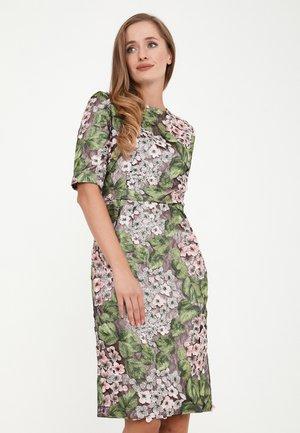 TROPICANA - Cocktail dress / Party dress - grün, rosa