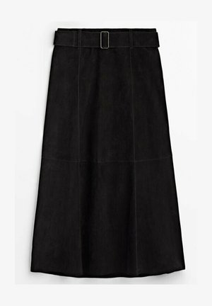 CAMPAIGN COLLECTION - A-line skirt - black