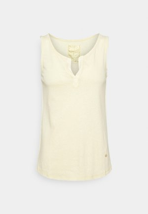 TROY TANK  - Top - charmomile