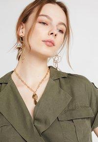 Noisy May - NMVERA ENDI DRESS - Shirt dress - olive night - 3