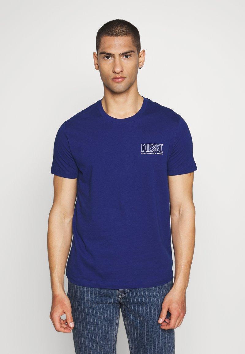 Diesel - JAKE - Print T-shirt - blue