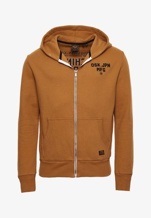 MODERN WORKWEAR - veste en sweat zippée - buckthorn brown