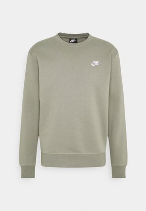 Sweatshirt - light army/white