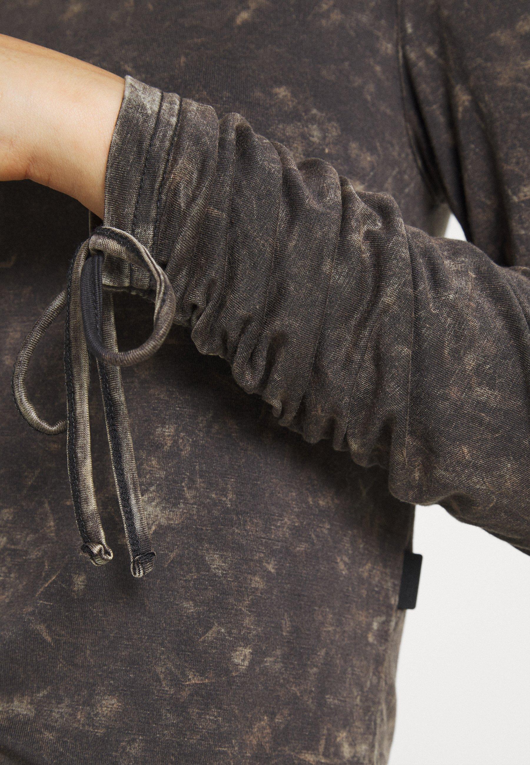 Women NMNAOMI CROP - Long sleeved top