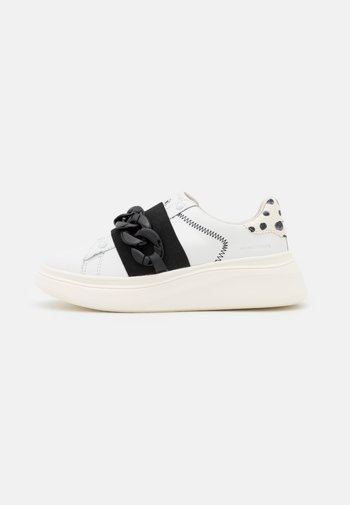 DOUBLE GALLERY - Sneakers basse - poise details