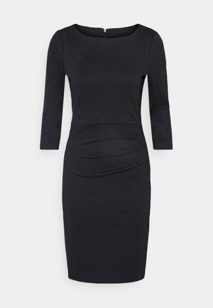 SARA DRESS - Shift dress - black deep