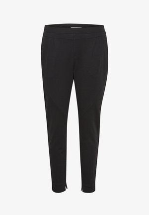 ANETT PANTS - Trousers - pitch black