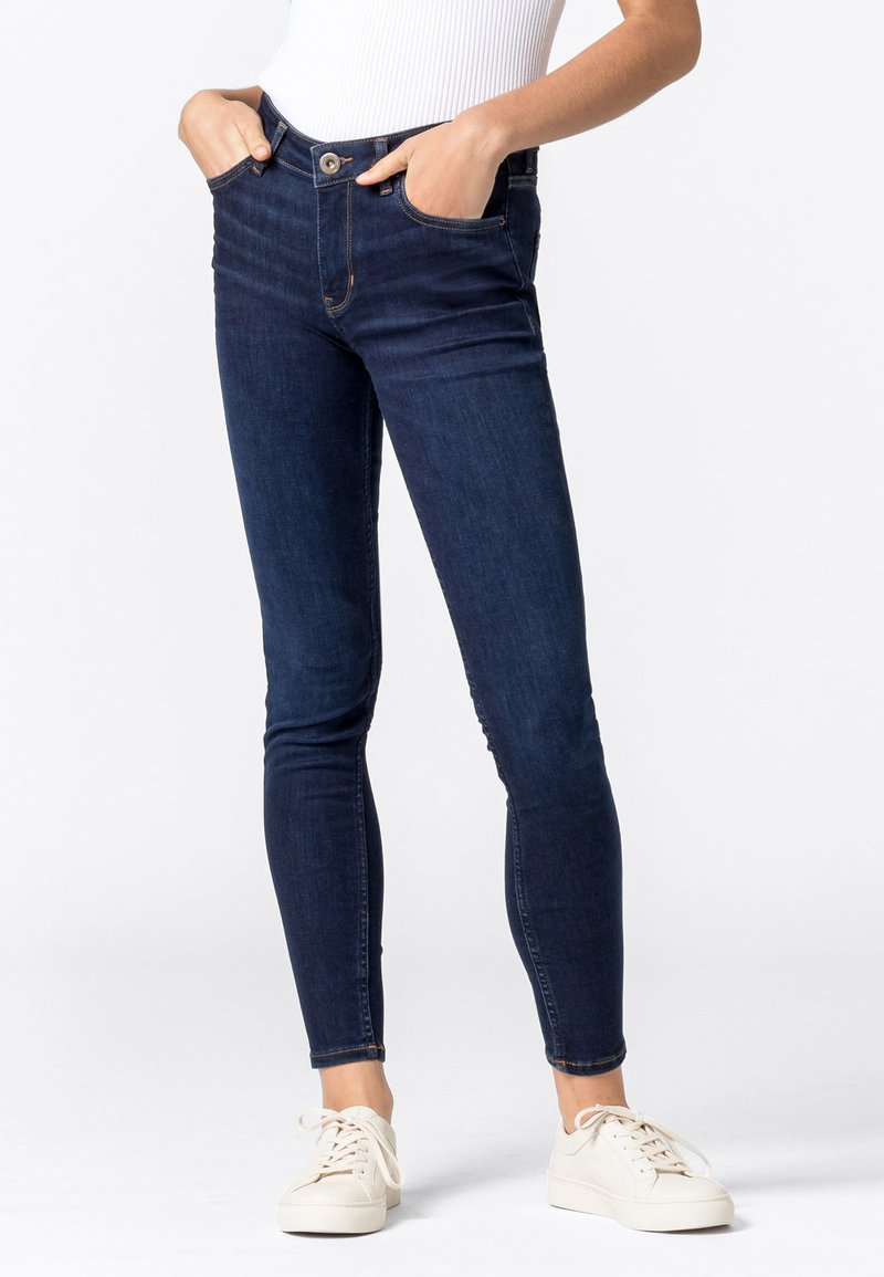 HALLHUBER - Jeans Skinny Fit - dark blue denim