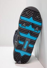 Hi-Tec - THUNDER WP  - Hiking shoes - navy/turquoise/black - 5