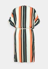 MY TRUE ME TOM TAILOR - DRESS KEYHOLE NECKLINE BELTED - Day dress - multicolor sahara - 6
