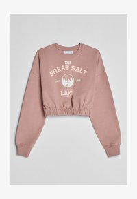 Bershka - MIT GUMMIZUG  - Sweatshirt - pink - 4