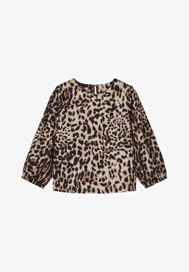 LMTD LEOPARDENPRINT - Blouse - thrush