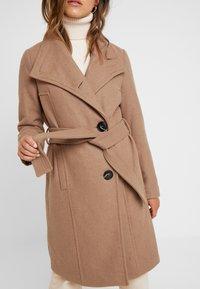 Vero Moda Petite - VMDANIELLA LONG - Classic coat - tobacco brown - 5