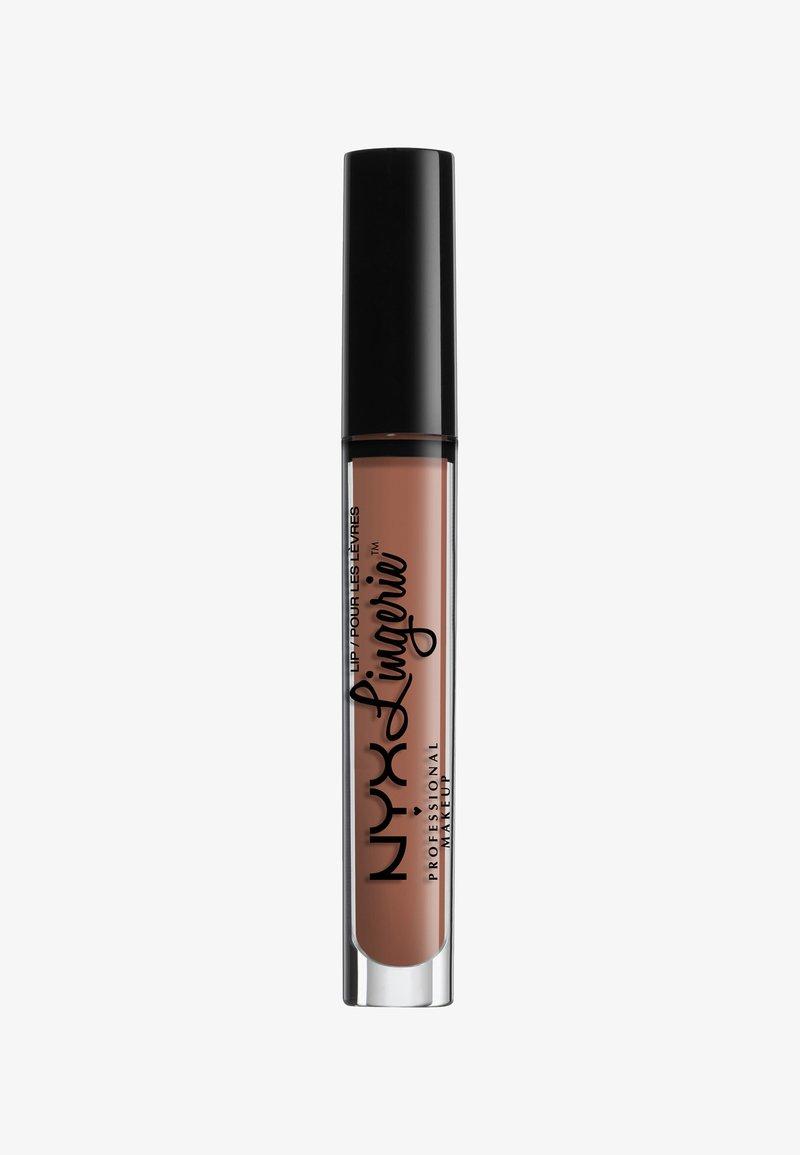 Nyx Professional Makeup - LINGERIE LIQUID LIPSTICK - Liquid lipstick - 8 bedtime flirt