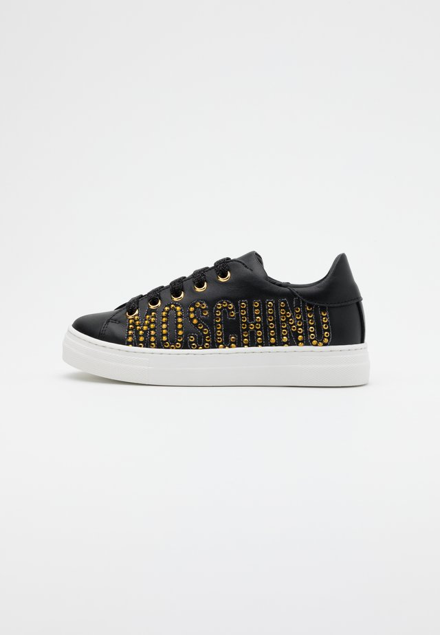 Matalavartiset tennarit - black/gold
