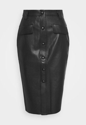 KARIN SKIRT - Pencil skirt - black