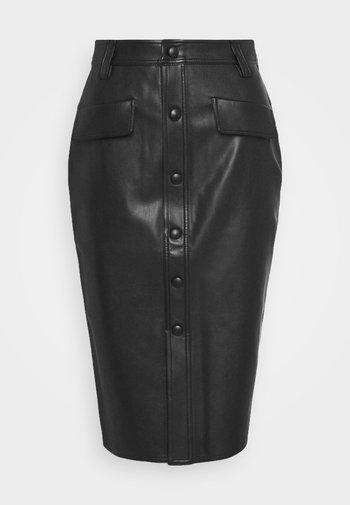 KARIN SKIRT - Pencil skirt - black