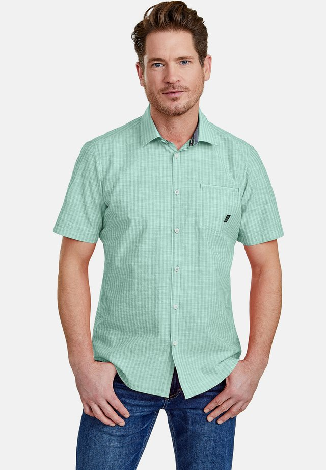 SEERSUCKER  - Shirt - jade green