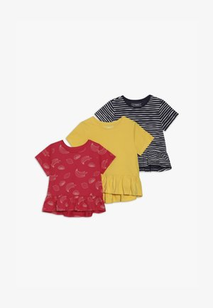 3 PACK - T-shirt con stampa - INK
