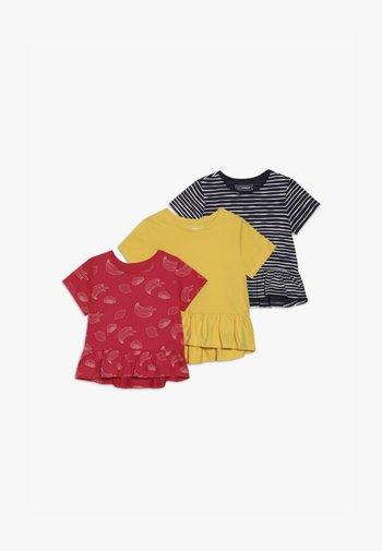 3 PACK - Print T-shirt - INK